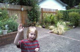 C at our old old house